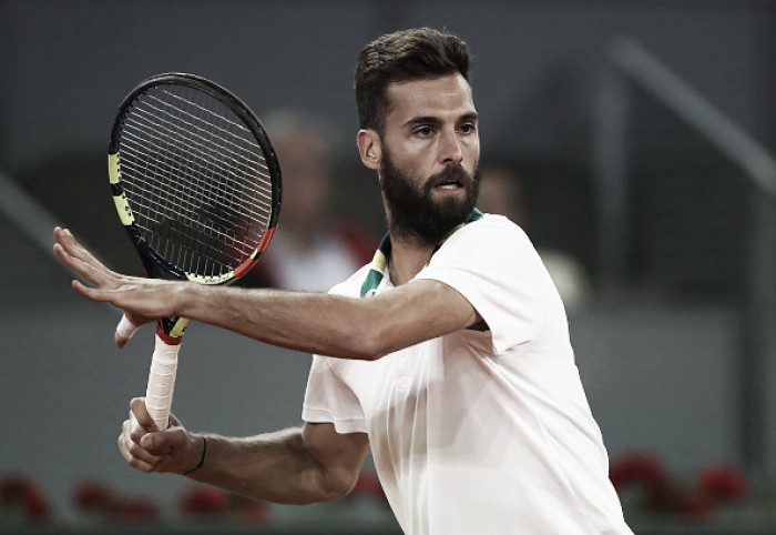 ATP Rome: Benoit Paire eliminates Nicolas Mahut to advance in battle of the Frenchmen