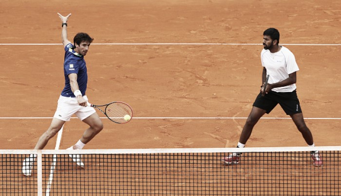 ATP Rome: Home favorites Bolelli/Seppi defeated in straights by Bopanna/Cuevas