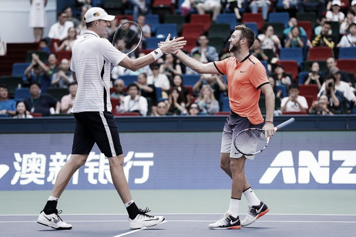 ATP Rome: Isner/Sock come through Rojer/Tecau via match tiebreaker