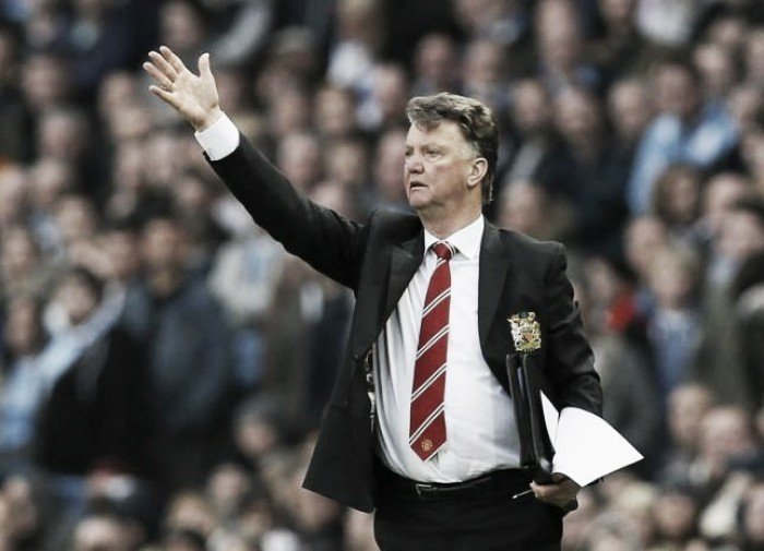 Louis van Gaal 'proud' of performance in Manchester derby