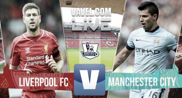 Liverpool vs Manchester City en vivo online (2-1)