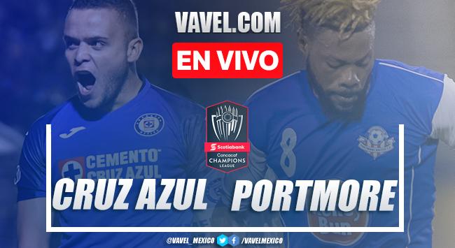 Goles y resultados del Cruz Azul 4-0 Portmore United en Liga Campeones CONCACAF