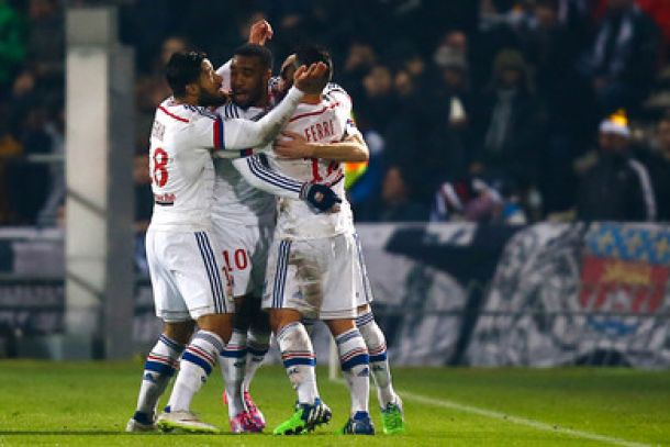 "Lyon étrille 0-5, les girondins lors du ""match de Noël"""