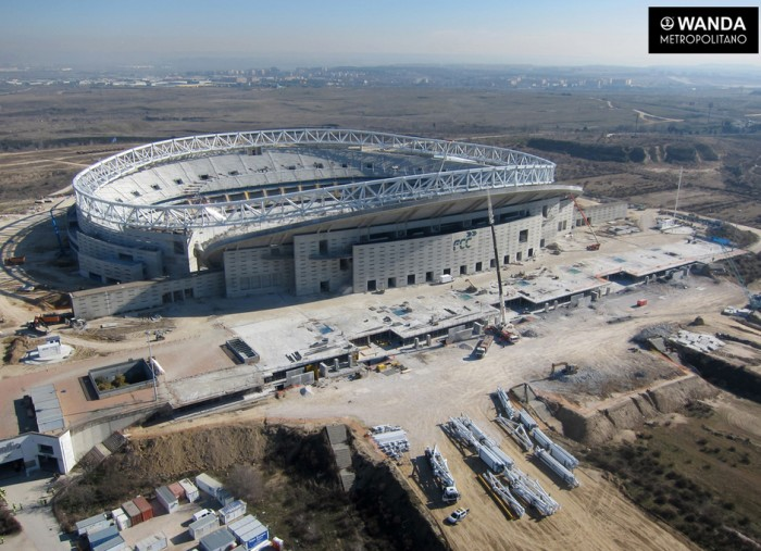 El Atlético adquiere los terrenos del Wanda Metropolitano