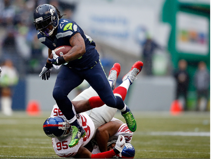 """Blakely: Marshawn Lynch """"All About That Action Boss"""""""