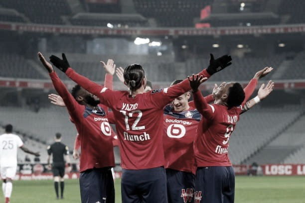 Lille busca virada antológica sobre Lyon, segue líder da Ligue 1 e isola adversário
