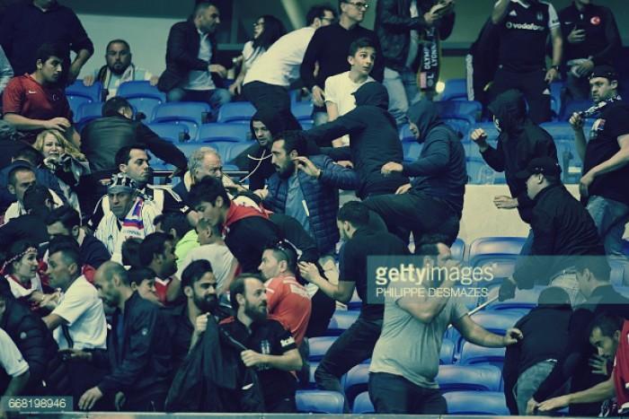 Lyon e Besiktas punidos com exclusão das competições europeias com pena suspensa