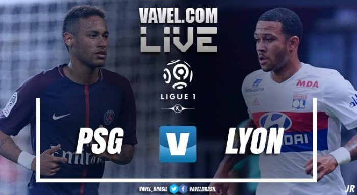 Resultado Lyon x PSG pelo Campeonato Francês (2-1)