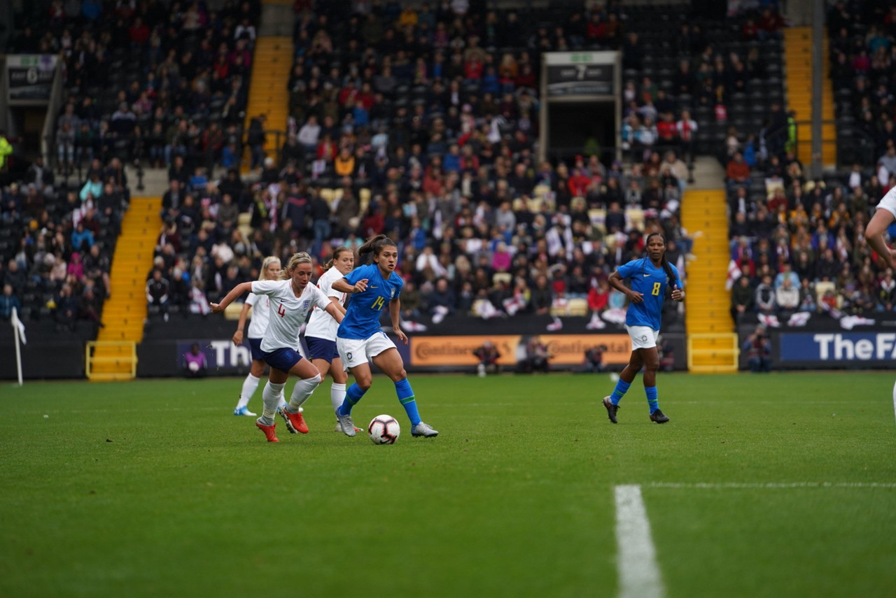 England 1-0 Brazil: Lionesses dominate but fail to make chances count
