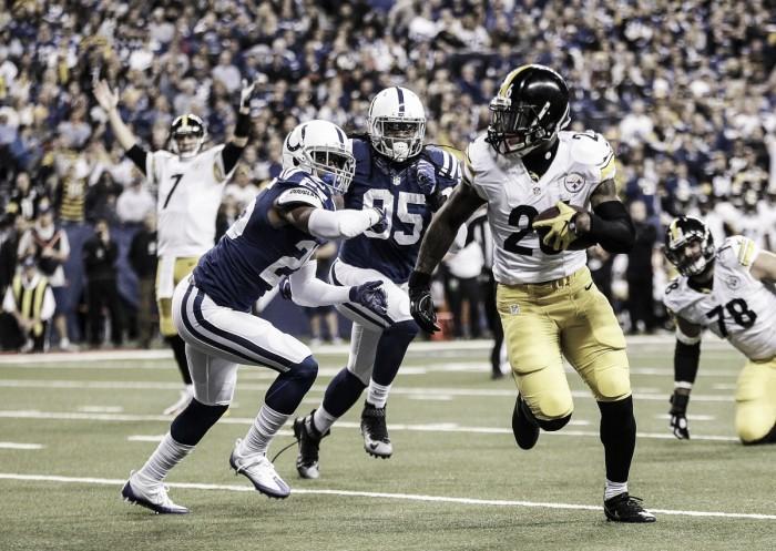 Com trio ofensivo inspirado, Steelers bate Colts fora de casa e assume liderança da AFC North