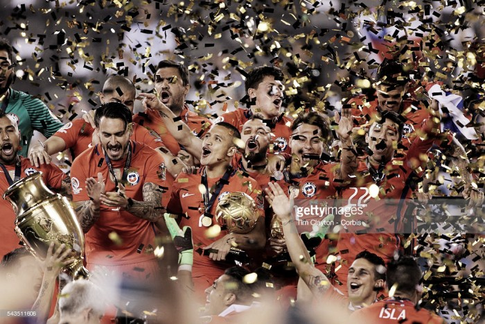 Chile conquista a Copa América: equilibrio, prolongamento, falhanço de Messi nos penalties e o triunfo chileno