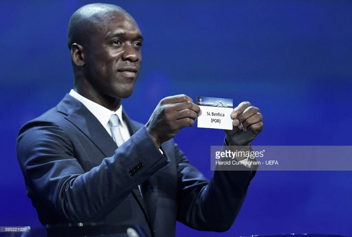Benfica no Grupo B da Champions: Nápoles, Dinamo Kiev e Besiktas no caminho da águia