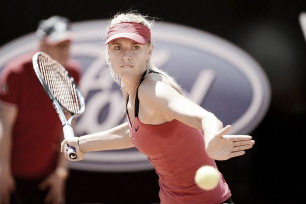 WTA Roma: finale Sharapova-Suarez Navarro, ko la Halep