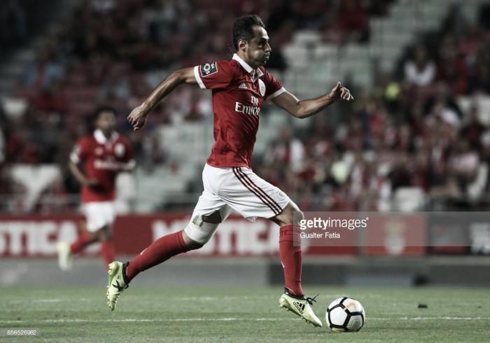 Benfica: Jonas, o pistoleiro que dispara sozinho