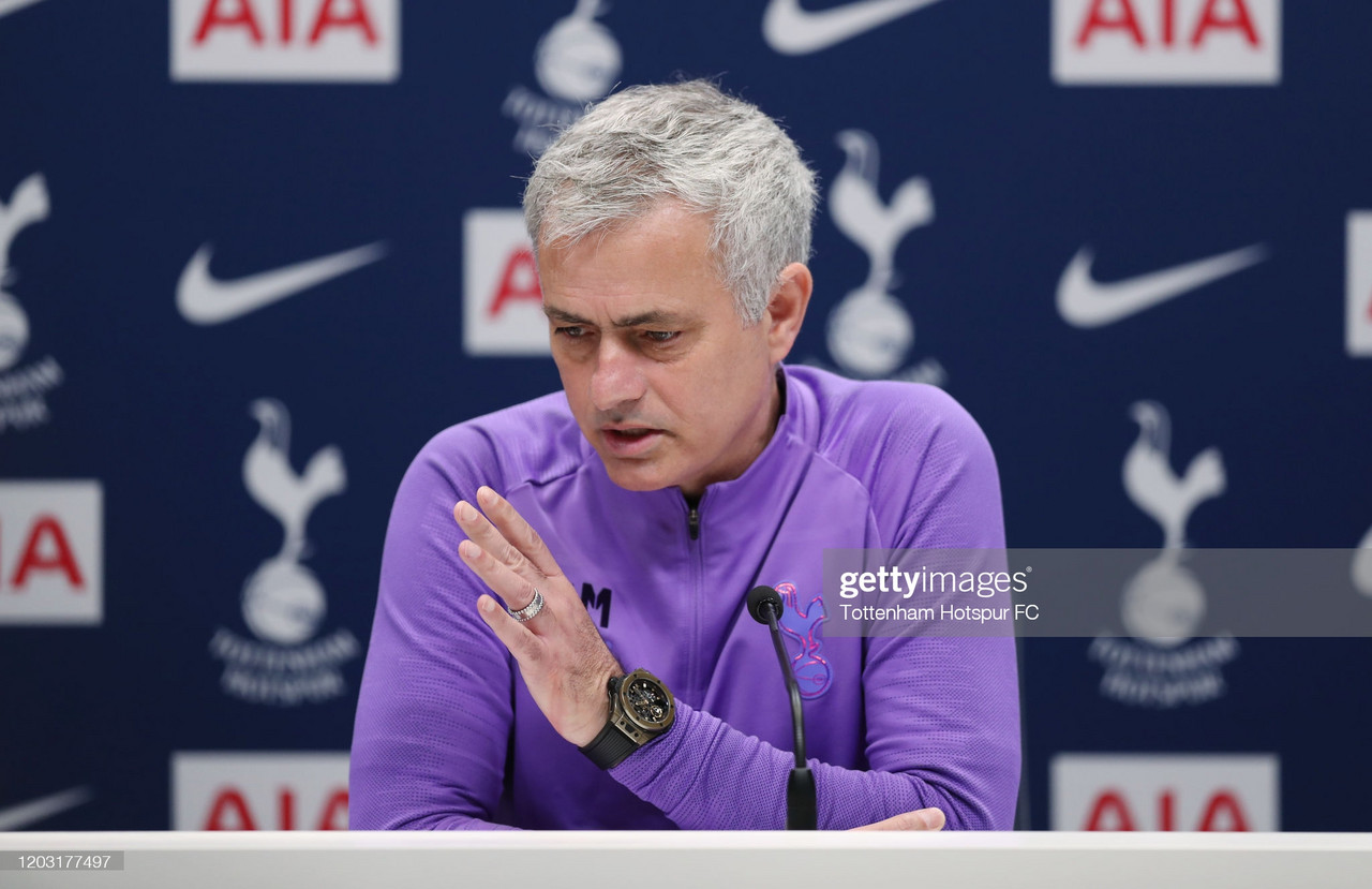 The key quotes from Jose Mourinho's press conference ahead of clash with Everton