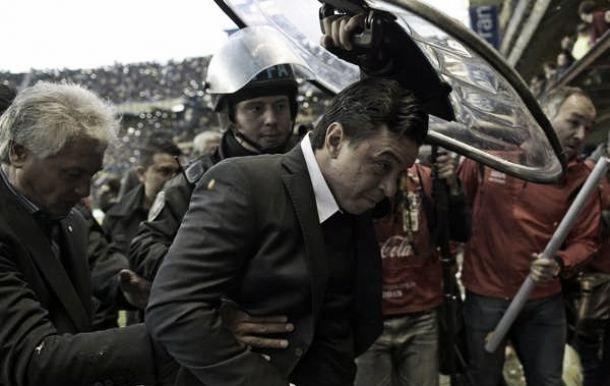 """Técnico do River alfineta Boca Juniors após derrota: """"Pensei que poderia jogar um pouco mais"""""""