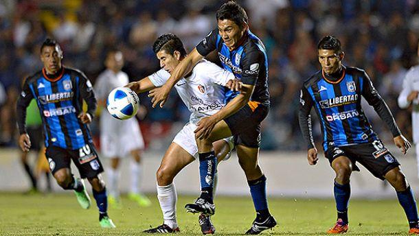 Querétaro - Atlas en Liga MX 2014 (1-0)
