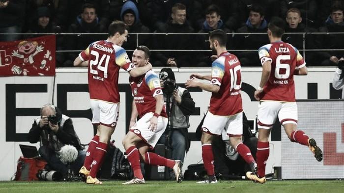 1. FSV Mainz 05 1-0 Borussia Mönchengladbach: Clemens makes certain of Carnival win, for the Karneval club