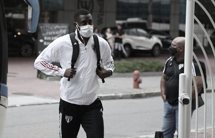 Após mais de um ano afastado, Gonzalo Carneiro volta a ser relacionado pelo São Paulo