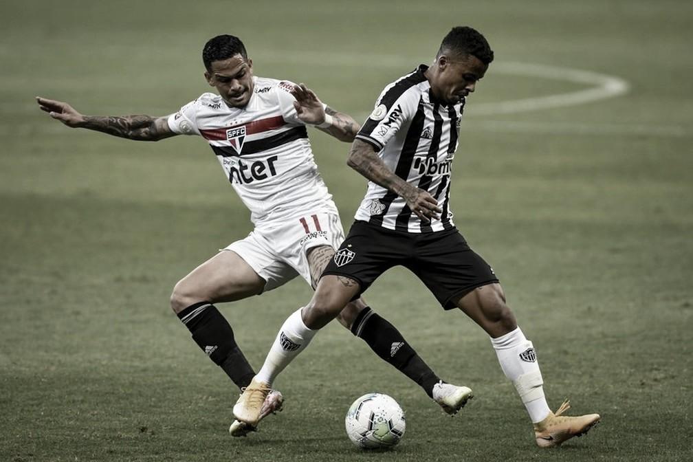"""Luciano lamenta gol muito polêmico anulado: """"É até difícil falar do VAR"""""""