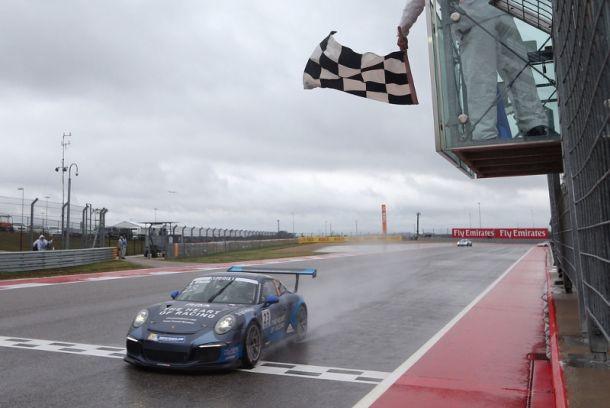 Alemão Philipp Eng é campeão da Porsche SuperCup em Austin