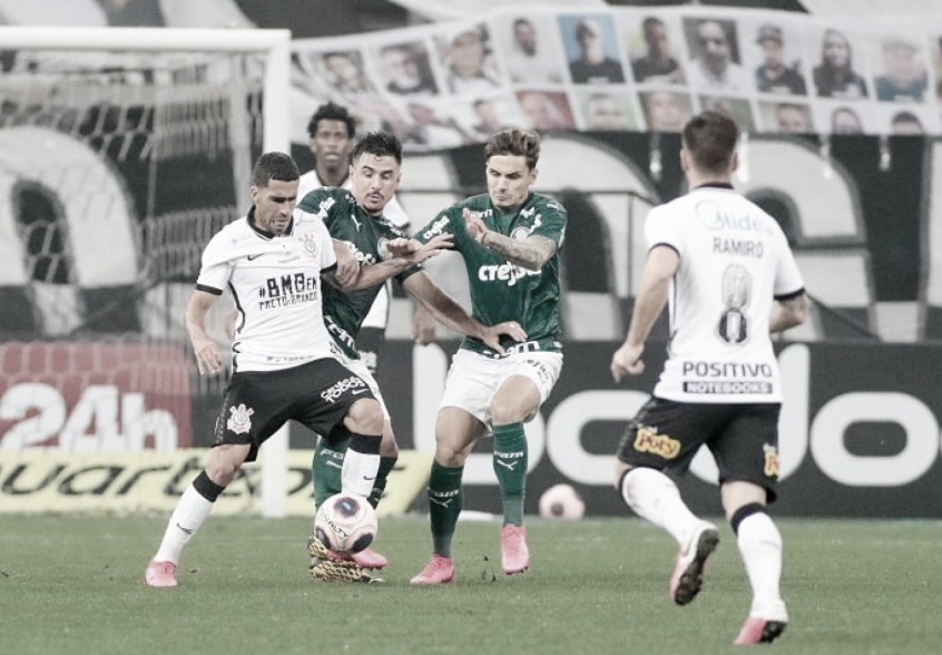 Corinthians encara Palmeiras na Neo Química Arena pelo 367º Derby