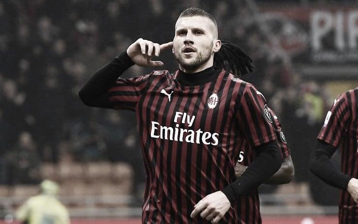 Milan confirma permanência definitiva de Rebic até 2025