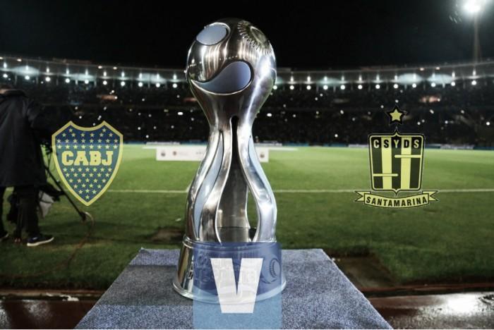 Resultado de Boca vs Santamarina por Copa Argentina (2-1)