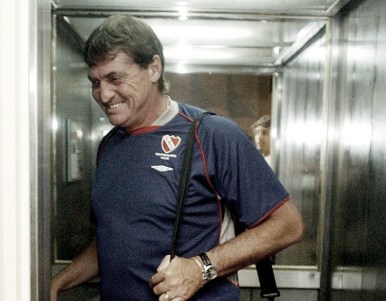 """FELIZ. Falcioni retorna al """"Rojo"""" y tendrá una nueva etapa en Independiente. Foto: Web"""