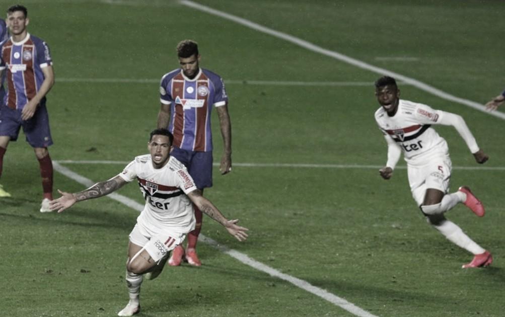 Após empate não convincente, Luciano fala sobre gol e desempenho da equipe