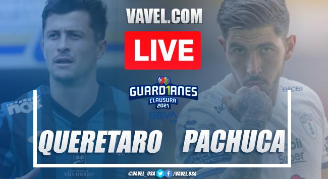 Goals and highlights: Queretaro 3-1 Pachuca in Liga MX Guard1anes 2021