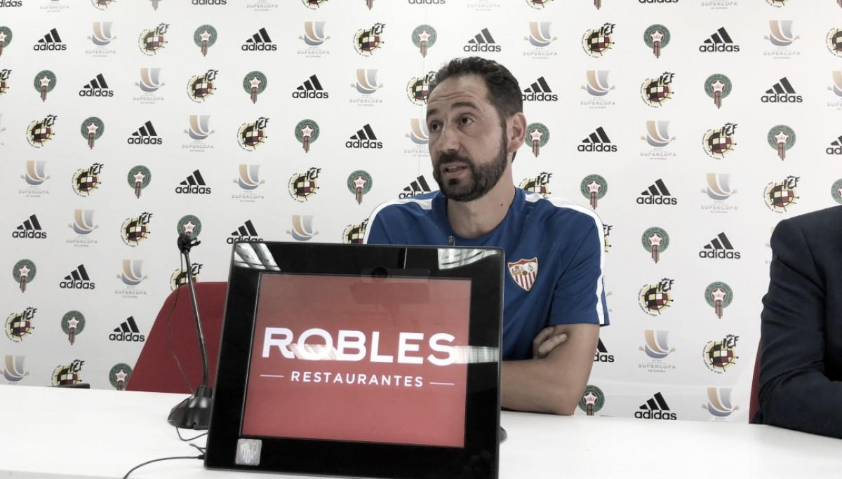 Pablo Machín: ''Hay que dejarlo todo en el campo para ganar''