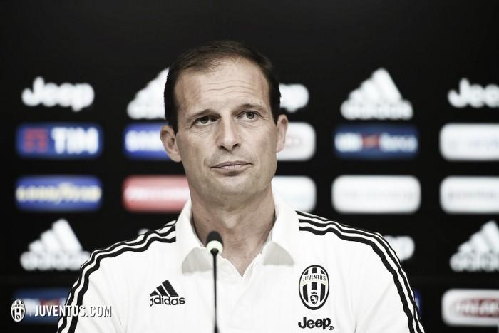 """Juventus, Allegri in conferenza: """"Domani non possiamo permetterci di sbagliare l'approccio"""""""