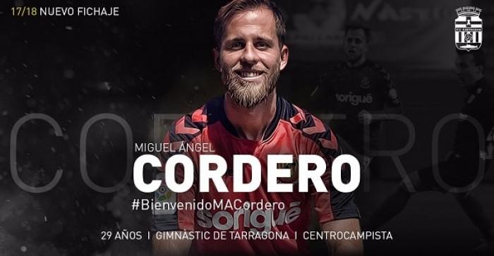 Miguel Ángel Cordero, refuerzo de plata para el Cartagena