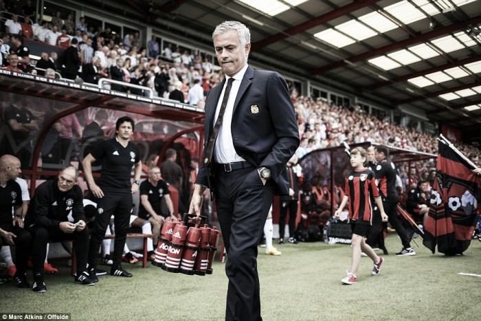 "Mourinho ""really happy"" after United's Bournemouth victory"