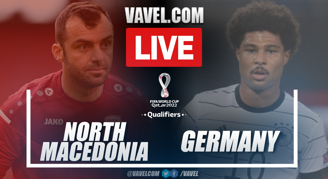 Highlights and goals: North Macedonia 0-4 Germany in European Qualifiers