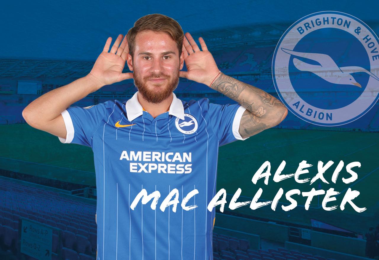 Mac Allister settling in at Brighton