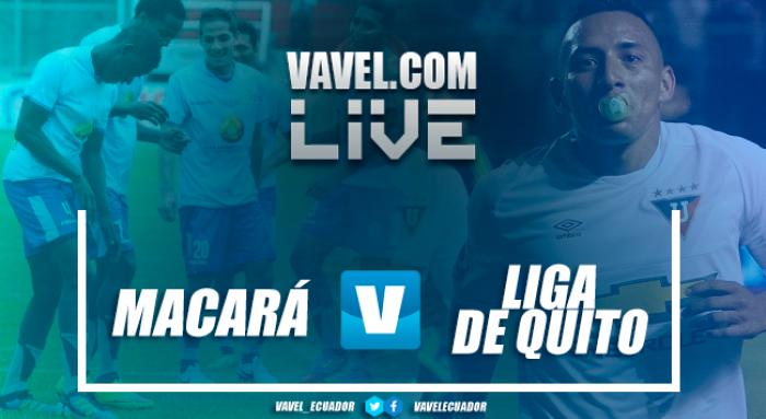 Macaráse lleva la victoria en los minutos adicionales frenta a Liga (1-0)