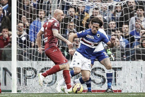 Risultato Sampdoria - Empoli, Serie A 2015/2016 (1-1): sblocca Pucciarelli, impatta Eder!