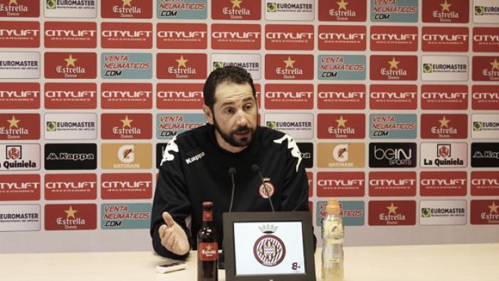 """Pablo Machín: """"El reto es seguir avanzando posiciones"""""""