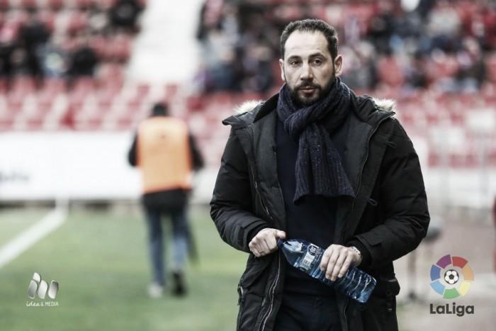 """Pablo Machín: """"Quiero jugar el play-off"""""""