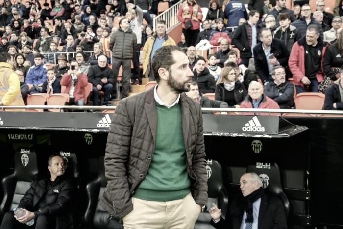 """Machín: """"Mi trabajo es que el mercado de invierno sea sacar el máximo rendimiento a los futbolistas"""""""