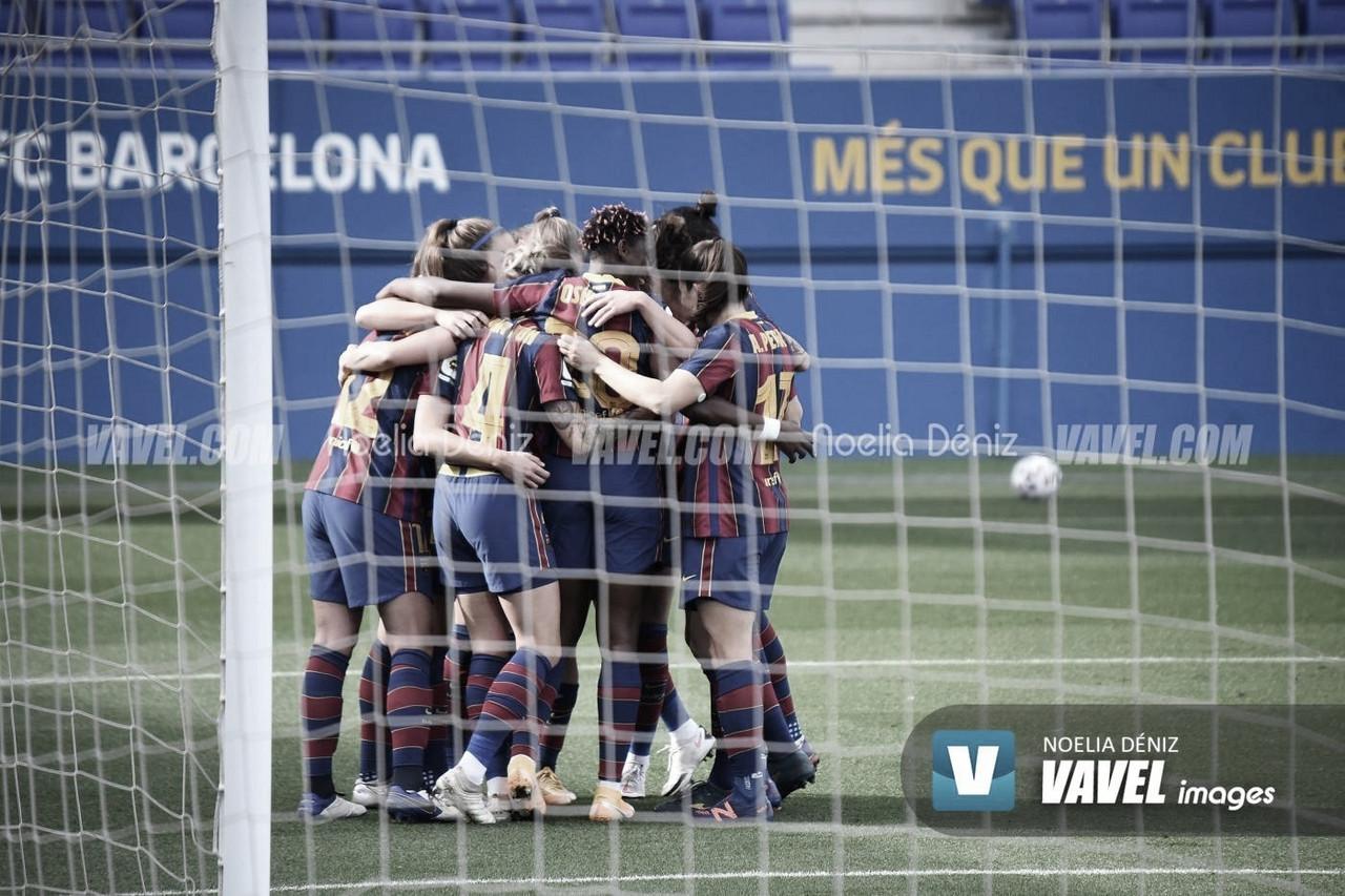 Resumen Sevilla - Barcelona en Primera Iberdrola (0-4)