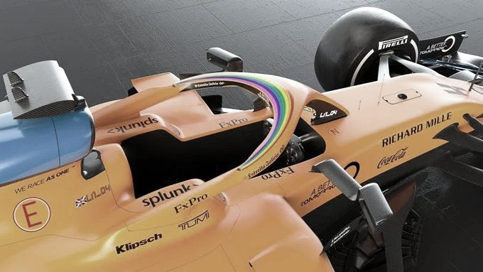 Equipes da Fórmula 1 se unem à campanha de Lewis Hamilton