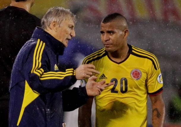 Macnelly Torres no estará en el partido contra Uruguay