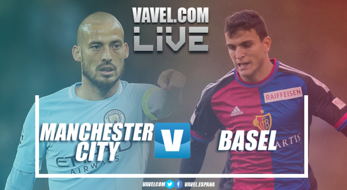 Risultato Manchester City - Basilea in diretta, LIVE Champions League 2017/18 - Jesus, Elyounoussi, Lang! (1-2)
