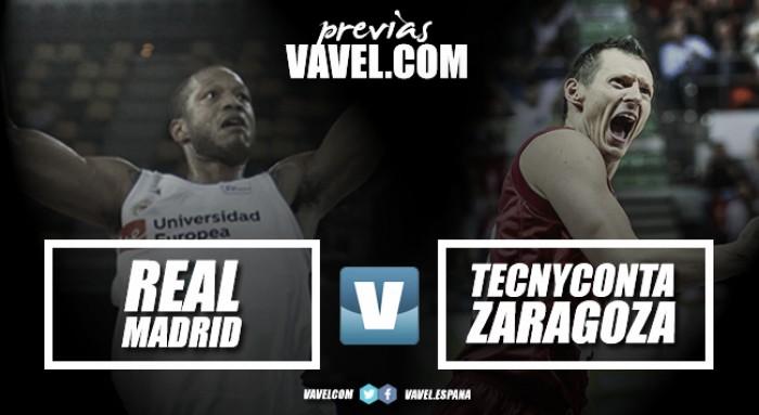 Real Madrid - Tecnyconta Zaragoza: objetivos antagónicos