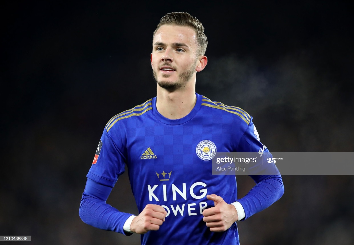 Leicester 'raring to go' ahead of Premier League return, says James Maddison