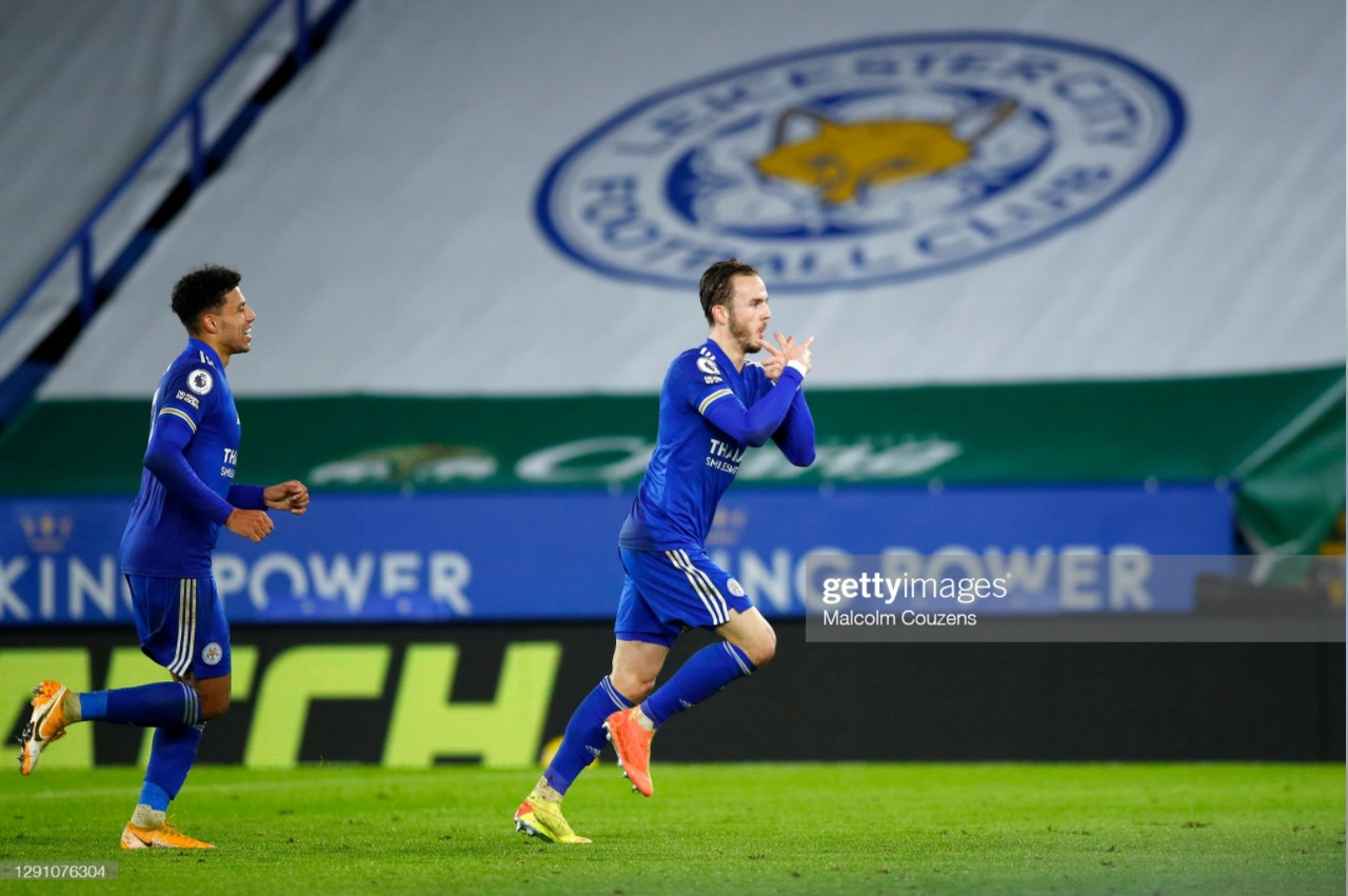 Leicester City 3-0 Brighton & Hove Albion: Maddison stars in Foxes' first-half blitz