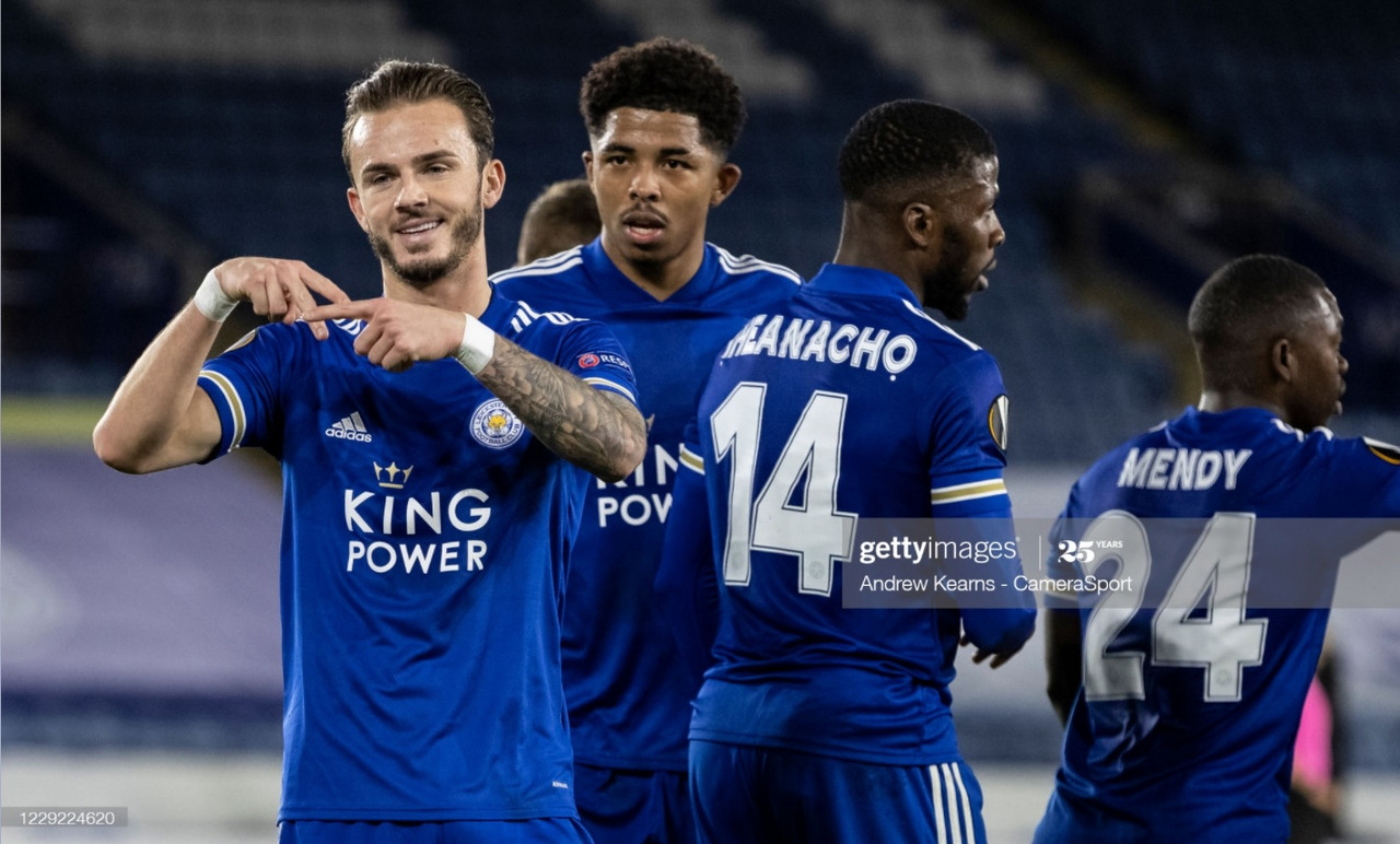 As it happened: Leicester edge past AEK with goals from Vardy and Choudhury